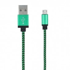 Forever Micro USB Cable 1m - Green