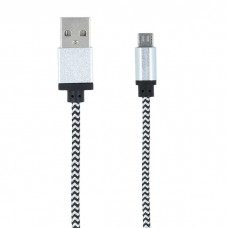 Forever Micro USB Cable 1m - Silver
